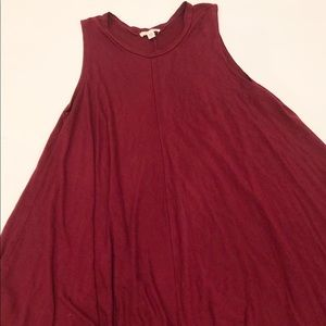 UO Silence & Noise red dress